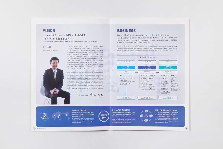 グローバルコットンメーカーの企業ブランディング